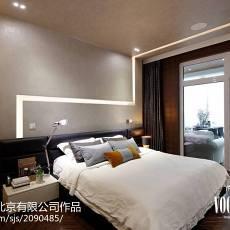 2018精选114平米现代别墅卧室欣赏图片大全