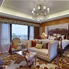 2018精选112平米新古典别墅卧室装修图片欣赏