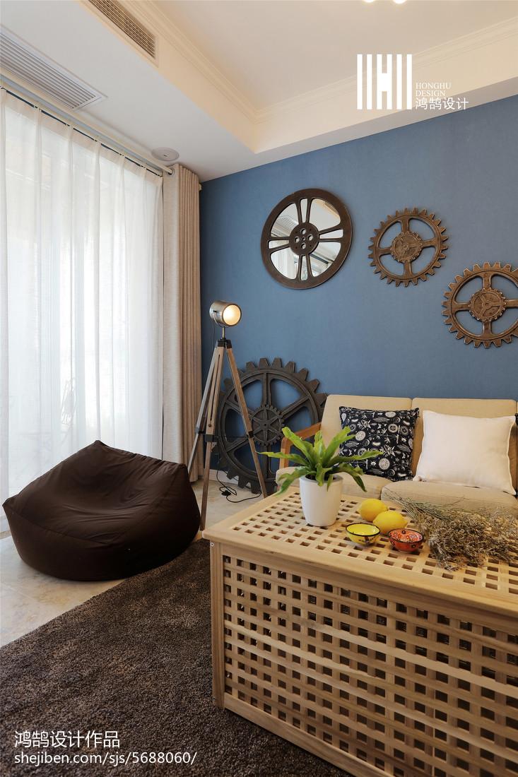 精选面积109平北欧三居客厅装修图片欣赏