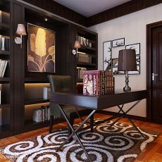 精美117平米四居书房现代欣赏图