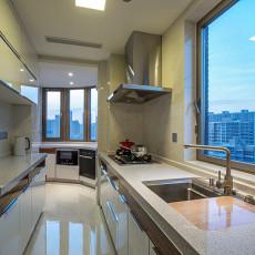 2018127平米四居厨房现代装饰图片