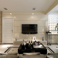 面积80平简约二居客厅实景图片欣赏