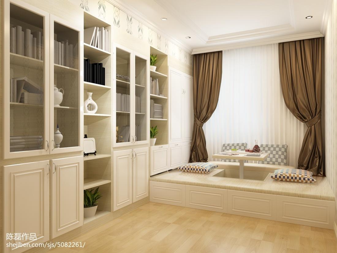 现代混搭风格茶几沙发效果图
