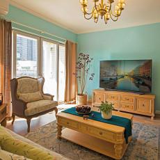 热门客厅混搭装修设计效果图片欣赏