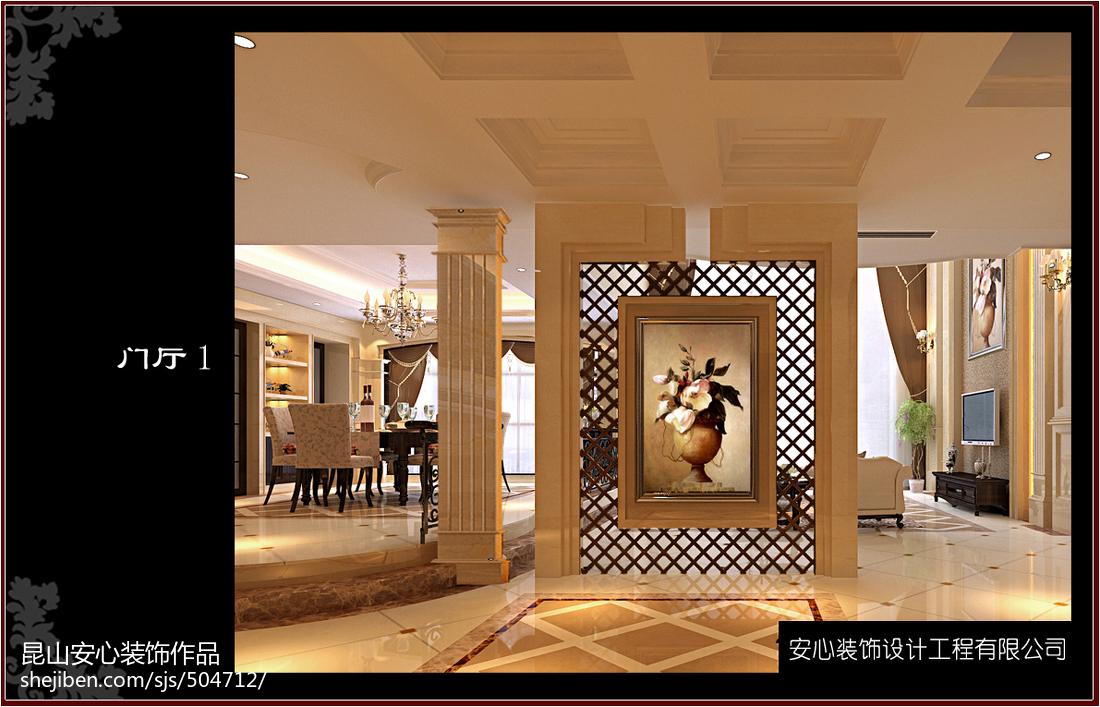 热门129平米美式别墅装修图片