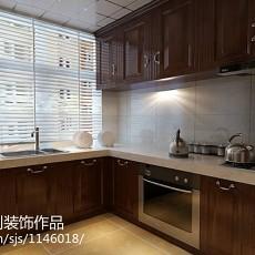 欧式三居厨房装修效果图片