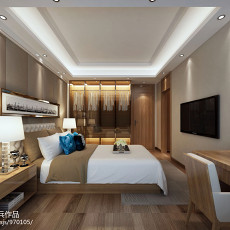 精选面积113平复式卧室简约实景图片大全