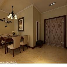 热门81平米二居餐厅美式实景图