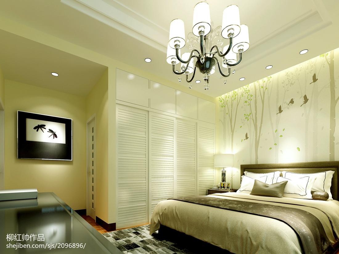 精美119平米简约复式卧室欣赏图片