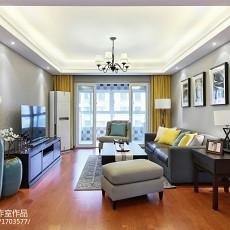 家装现代风格客厅效果图装修