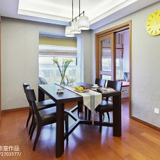家装现代风格餐厅效果图装修
