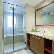 家装现代风格卫浴效果图装修