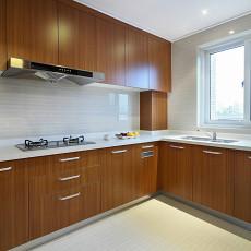家装现代风格厨房效果图装修