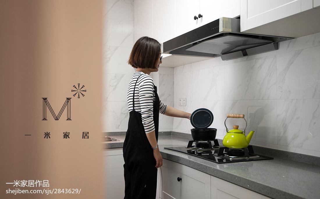 热门84平米二居厨房混搭装饰图片大全