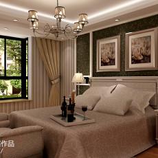 精选116平米四居卧室现代装饰图片欣赏