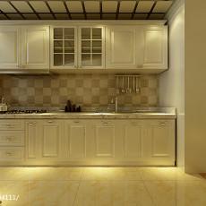 精美130平米四居厨房欧式装修欣赏图片