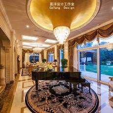 2018精选115平米欧式别墅休闲区装修设计效果图片大全