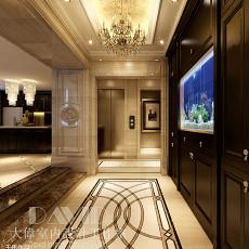 热门143平米欧式别墅玄关实景图