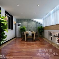 热门面积116平复式餐厅现代装修欣赏图