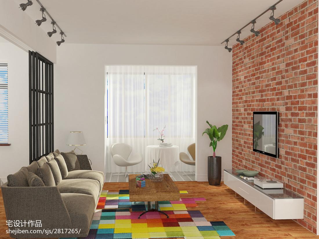 简约主义公寓卧室装饰图片