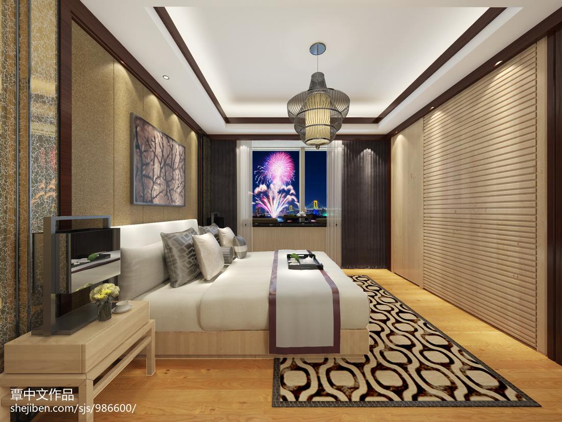 轻盈浪漫欧式卧室装饰
