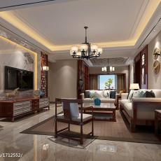 美式装修设计130平米四室两厅效果图大全