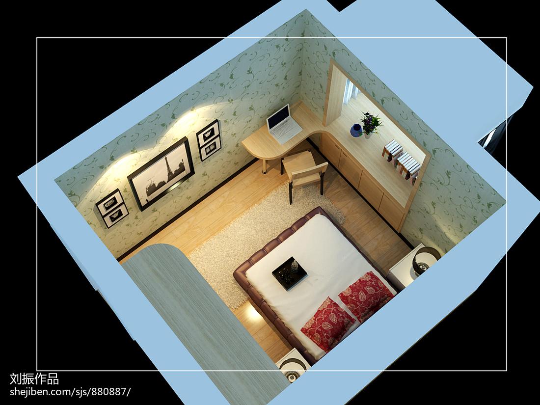 现代风家居卧室效果图
