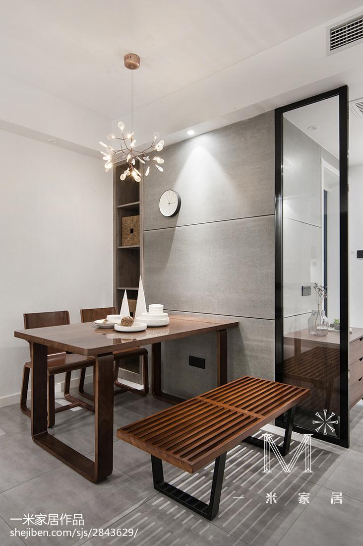 精美88平米二居餐厅北欧装修图片欣赏