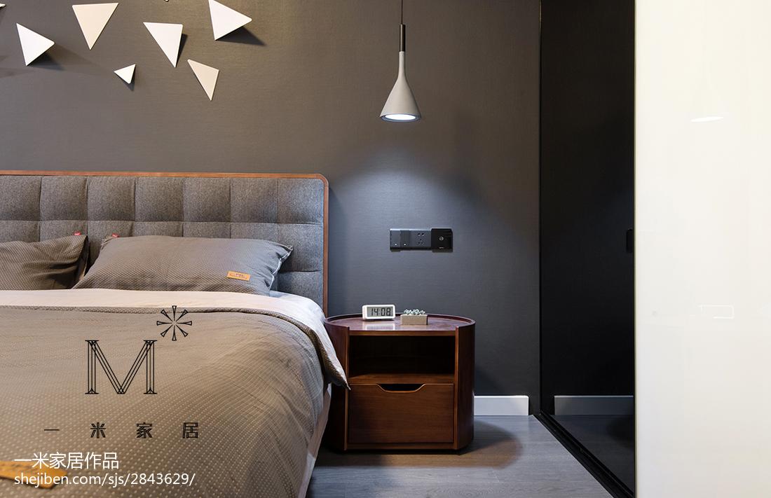 精选北欧二居卧室装修欣赏图片大全