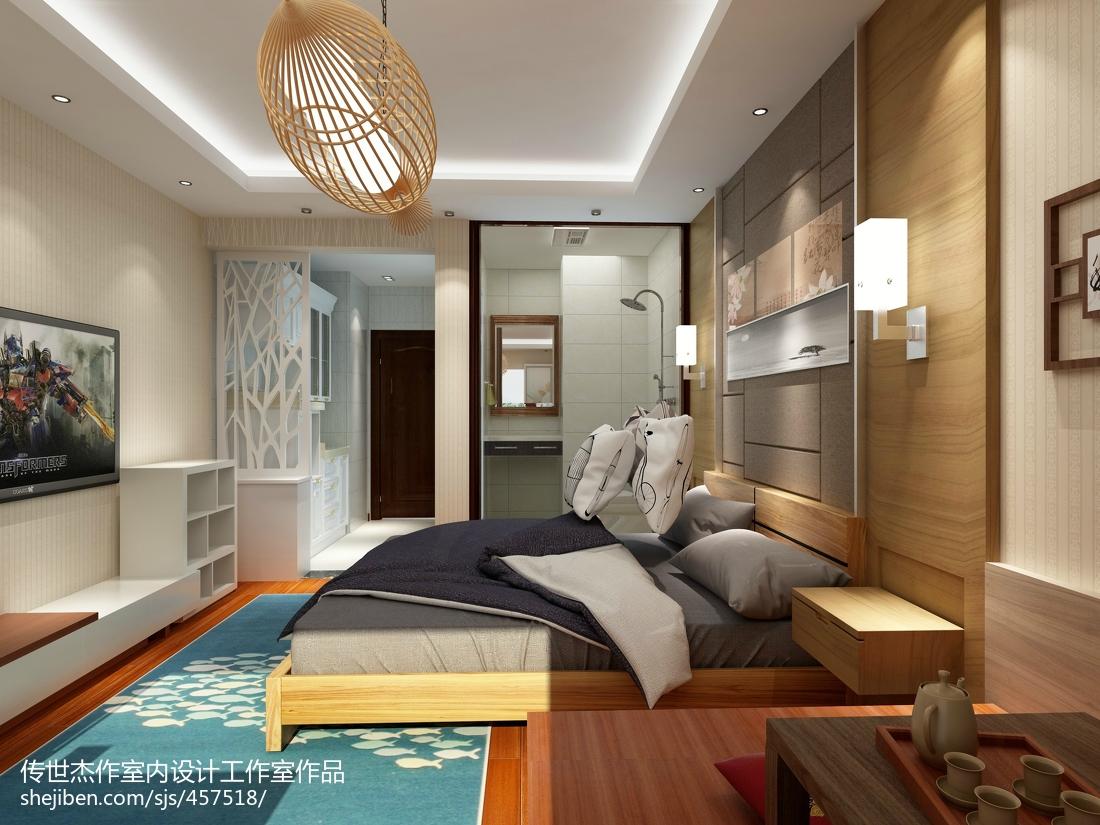 现代小户型卧室装修图片