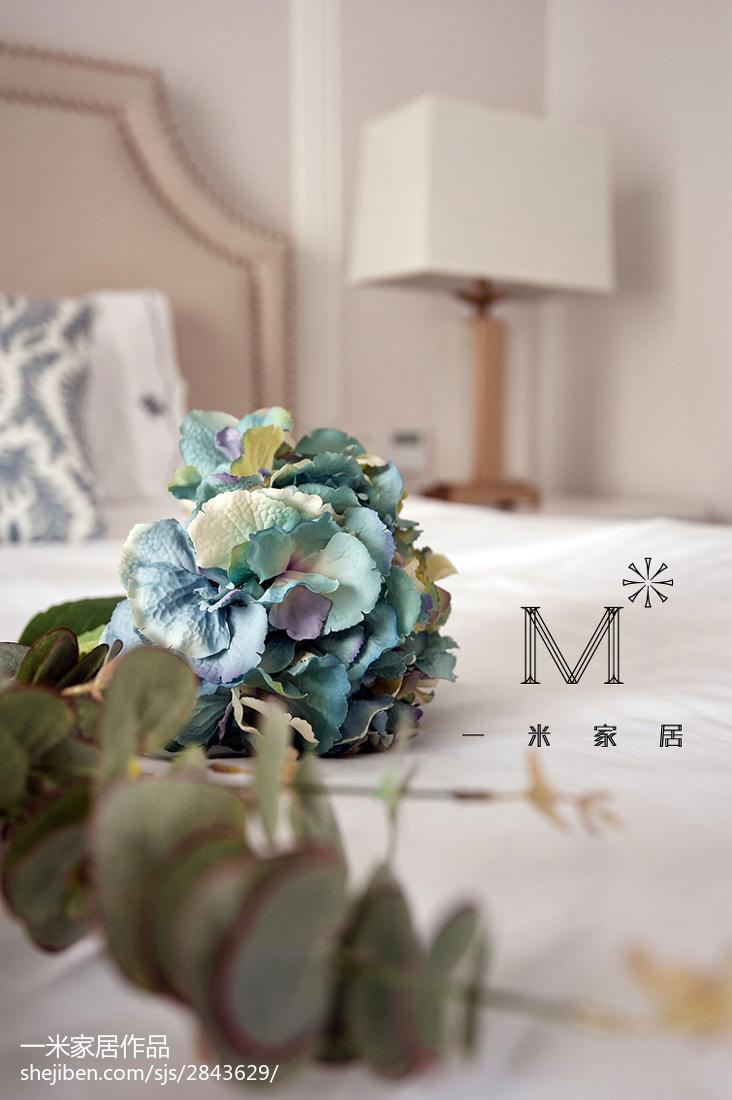 2018二居卧室美式装修设计效果图片