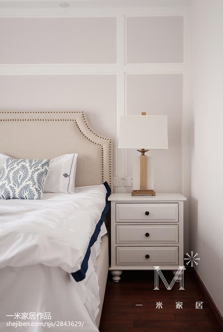 精选二居卧室美式装修实景图片欣赏