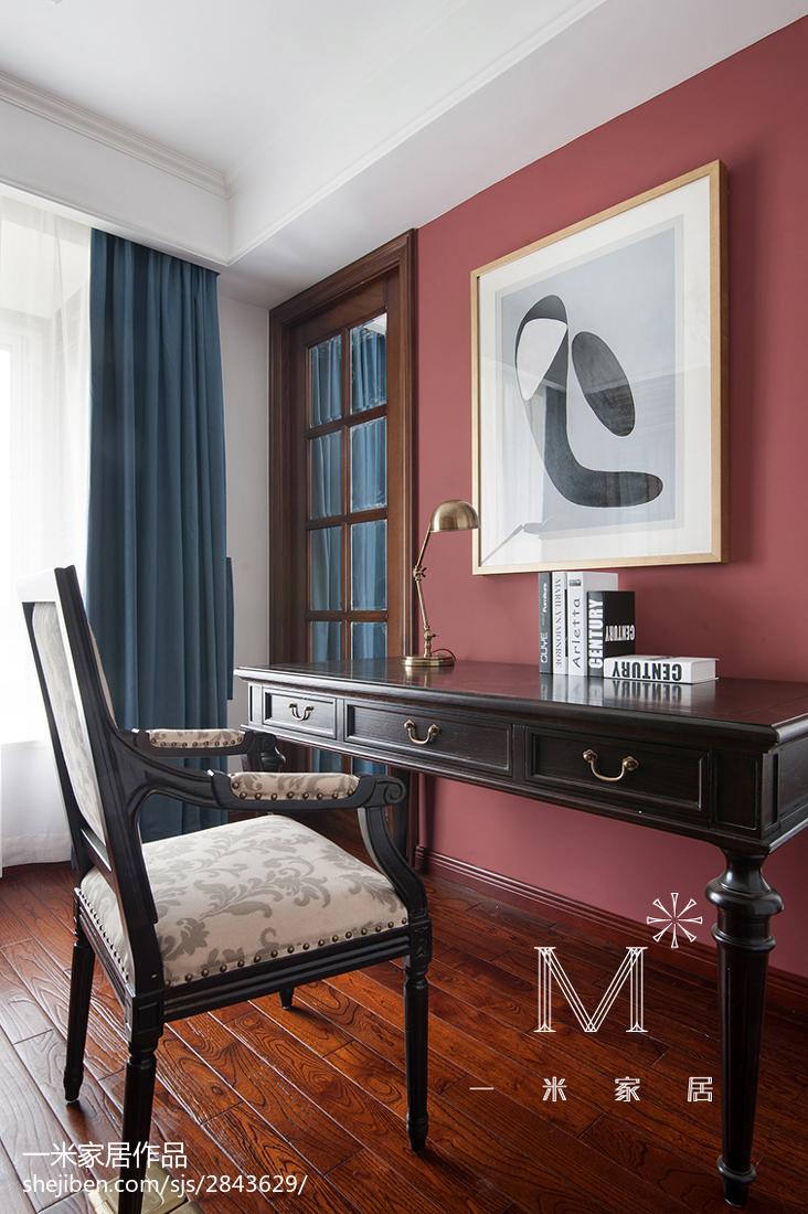 精选大小90平美式二居卧室装饰图片欣赏
