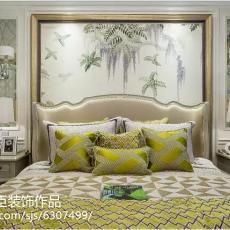 面积138平别墅卧室现代装修效果图片大全