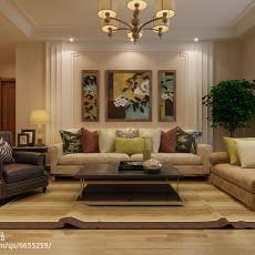 精选93平方三居客厅现代欣赏图片大全