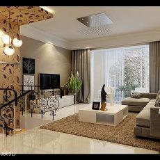 热门简约复式客厅效果图片