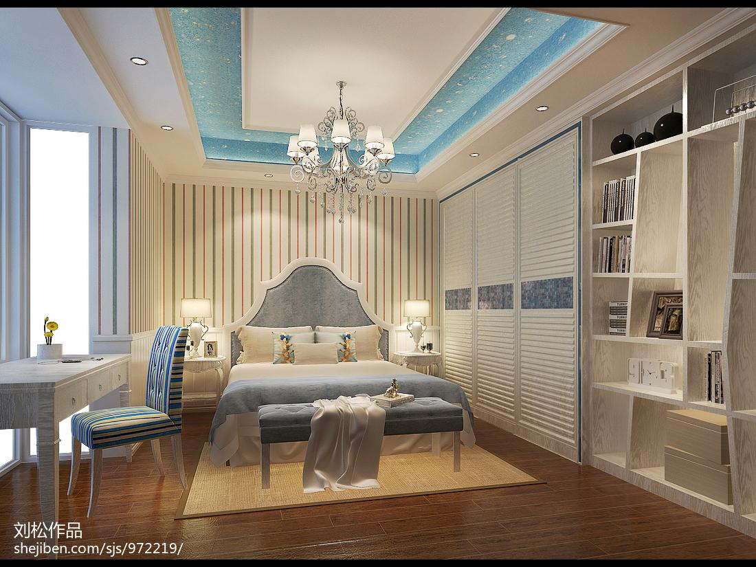 热门108平米三居中式装修欣赏图