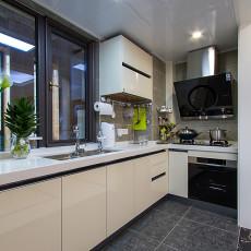 精选三居厨房现代装修实景图片大全