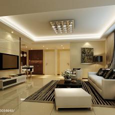 宜家风格55平米一居室装修效果图片