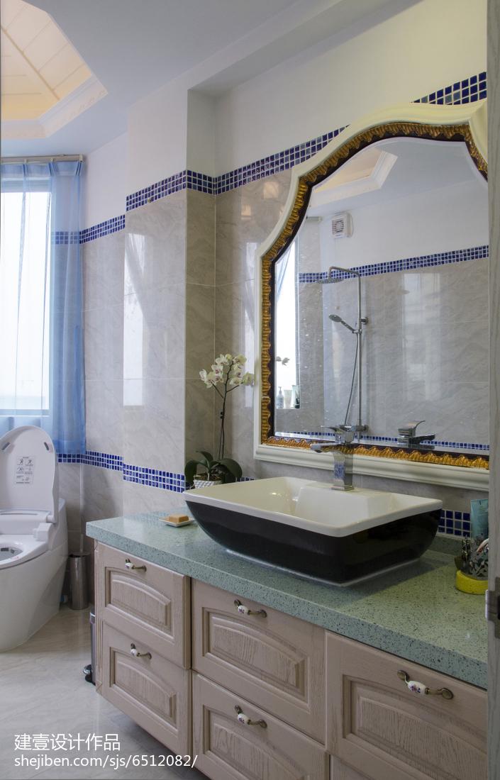 热门地中海复式卫生间装修实景图片