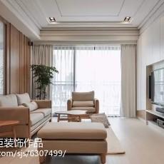 热门89平米二居客厅欧式装修实景图片大全