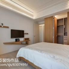热门面积80平欧式二居卧室装修图片欣赏