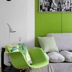 79平方二居客厅现代装修欣赏图片大全