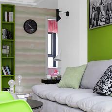 精美72平米二居客厅现代效果图片