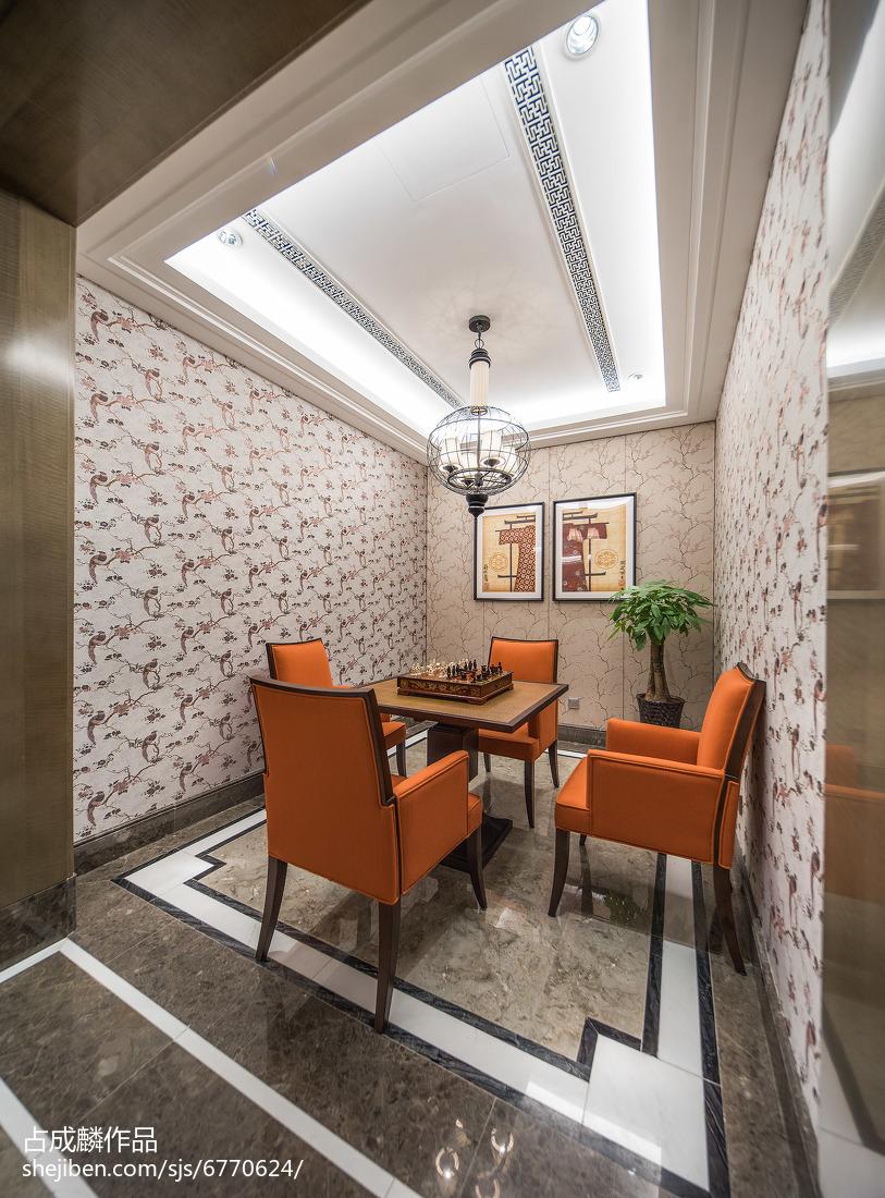 热门中式休闲区装饰图片