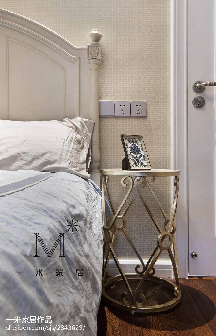 精美面积82平美式二居卧室欣赏图片大全