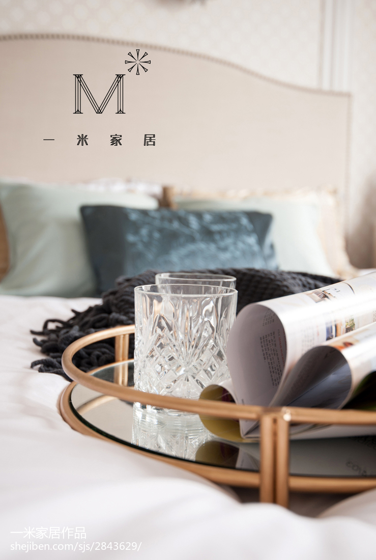 热门90平米二居卧室美式装修设计效果图片