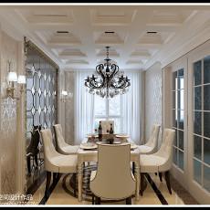 热门70平米二居餐厅中式装修设计效果图
