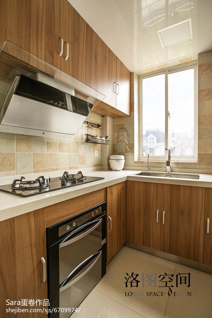精选144平米美式复式厨房装修效果图片大全
