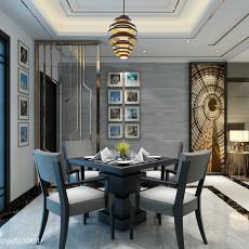 热门71平米二居餐厅现代装修欣赏图片